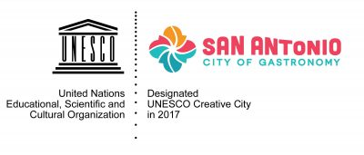 San Antonio City of Gastronomy logo