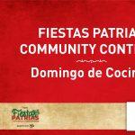 Fiestas Patrias Community Content: Domingo de Cocinar