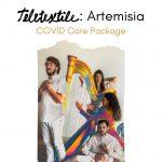 Teletextile: Artemisia - COVID Care Package by Pamela Martinez