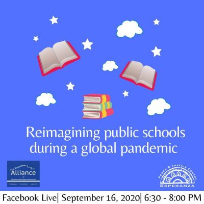 Reimagining Public Schools During a Global Pandemic