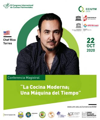 III Continental Virtual Congress of Heritage Cuisine in Portoviejo UNESCO Creative City of Gastronomy (Ecuador).