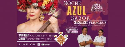 Noche Azul Sabor Chachalacas Veracruz!