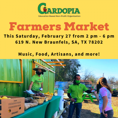 Gardopia Gardens Farmers Market & Yoga