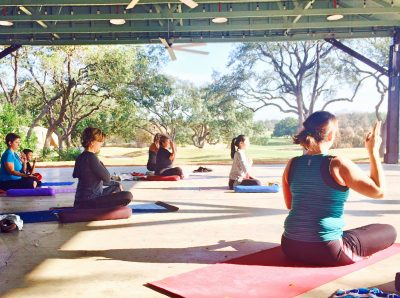 """Power/Strong Flow"" Yoga Class at Hyatt Regenc..."