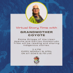 Virtual Story Time with Grandmother Coyote