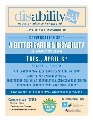 A BETTER EARTH & DISABILITY