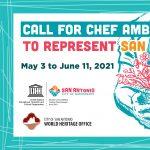 Call for Chef Ambassadors to represent San Antonio UNESCO Creative City of Gastronomy