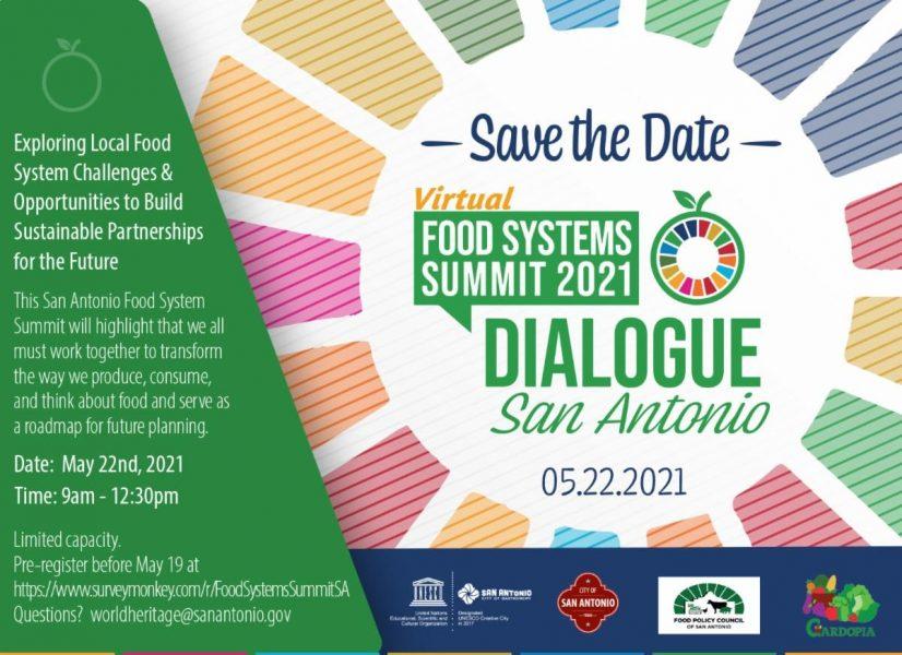 Food Systems Summit 2021 Dialogue in San Antonio